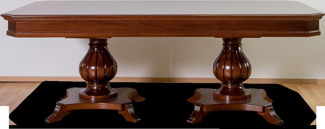 Κλασική τραπεζαρία ball table