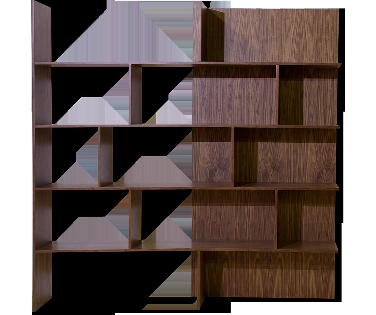Βιβλιοθήκη από δρυς ioanna